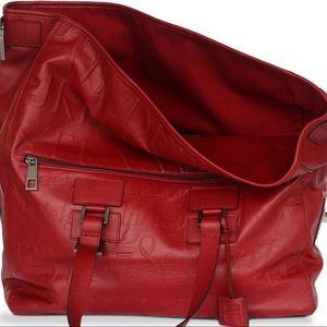 Assouline Red Didot Bag